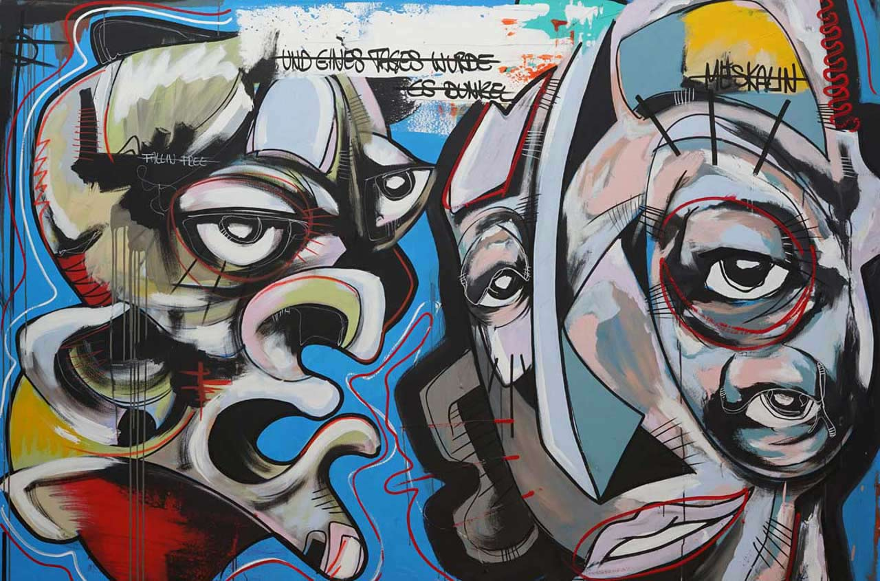 Interview to German Painter Daniel Harms | Fumogallery