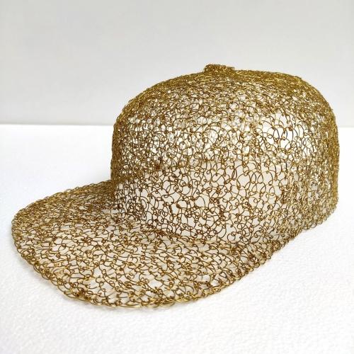 SNAPBACK CAP / BRASS WIRE of Giacomo Bevanati Fumogallery