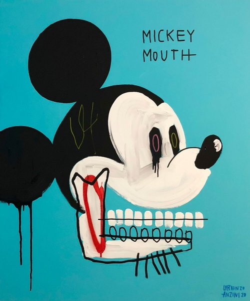 Mickey Mouth of Lorenzo Loreprod Anzini Fumogallery